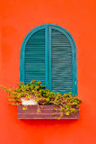 Window. A window is a transparent or translucent opening in a wall or door that allows the passage of light Royalty Free Stock Photos