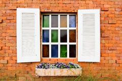 Window. European style is beautifully designed window Royalty Free Stock Photo