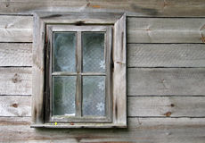 Window. Old house royalty free stock images