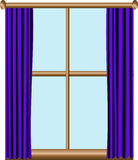 Window royalty free illustration