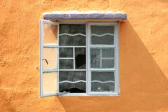 Window. In suburban Hong Kong Royalty Free Stock Photo