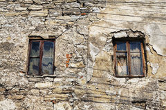 Window Of Abandoned House Royalty Free Stock Image