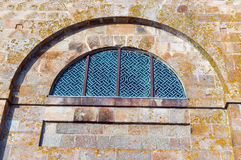 Window of the Abbey of Mont Saint Michael Royalty Free Stock Image