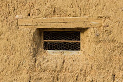 Window in Adobe House Royalty Free Stock Photography