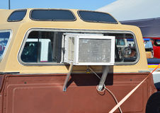 Window Air Conditioner in truck. Royalty Free Stock Photos