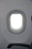 Window of airplane Stock Photo