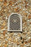 Window of Al Muhajirin Mosque in Selangor Stock Photo