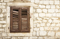 Window alcove Stock Photo