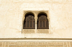 Window in Alhambra stock image