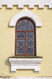 Window in ancient Church Stock Images