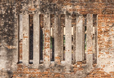 Window of ancient church. Stock Image
