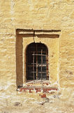 Window in ancient russian monastery Stock Images