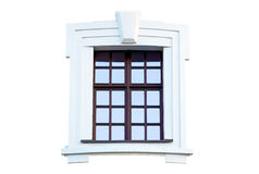 Window in the ancient style. Stock Photography