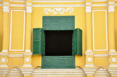 A window. On the antique building Royalty Free Stock Image