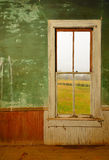 Window in Antique Home Royalty Free Stock Images