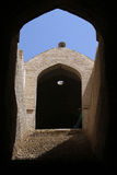 Window and arc. On the street in Yazd, Iran Stock Images