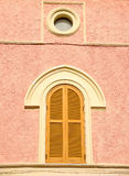 Window with arch Stock Photo