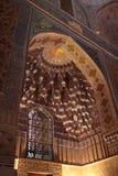 Window arch in Guri Amir Royalty Free Stock Image