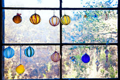 Window and Art Glass Royalty Free Stock Photo