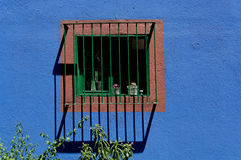 Window At Casa Azul Royalty Free Stock Image