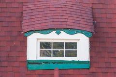 Window on attic stock photos