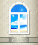 Window background. Stock Photography