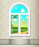 Window background. Stock Photos