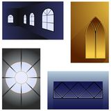 Window backgrounds Stock Photo
