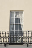 Window and balcony Royalty Free Stock Image