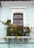 Window balcony quito ecuador Royalty Free Stock Photo