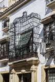 Window and balcony, Spain Royalty Free Stock Image