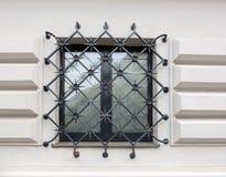 Window, barred. Royalty Free Stock Image