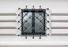 Window, barred. Royalty Free Stock Images