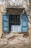 Window with bars Royalty Free Stock Photos