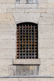 Window with Bars Stock Photography