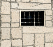 Window with bars. Stock Photo