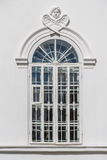 Window with bars in the Orthodox Church. Space to insert text. Stock Photo