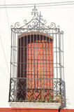 Window with bars at Suchitoto Stock Photography