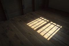Window with bars Royalty Free Stock Images