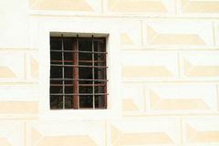 Window with bars Royalty Free Stock Image