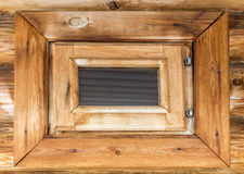 The window in the bathhouse Royalty Free Stock Photo