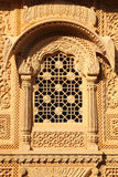 Window of beautiful ornamental building in india Royalty Free Stock Photo