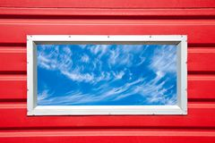 Window into a Beautiful Sky Royalty Free Stock Images