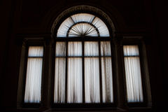 Window in black and white. An internal of a museum royalty free stock photography