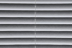Window blind background. Partially open white window blind for background Stock Photos