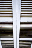 Window    blind in the concrete   besnate Stock Photography
