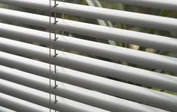 Window blind detail Stock Photo
