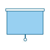 Window blind isolated icon. Vector illustration design Stock Photography