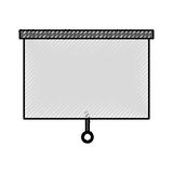 Window blind isolated icon. Vector illustration design Royalty Free Stock Image