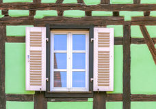 Window with blind Royalty Free Stock Photos